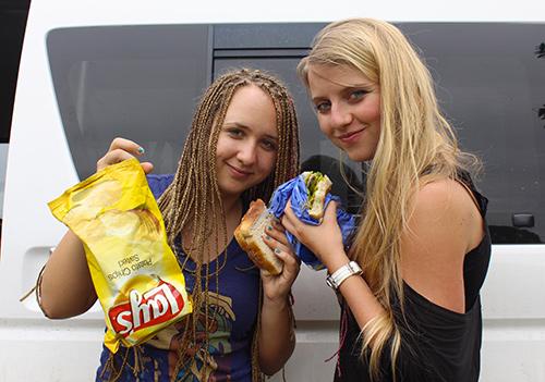 Andrea og Ivanna